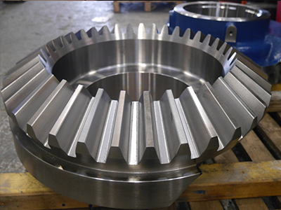 Crusher straight bevel gear manufacturer from china