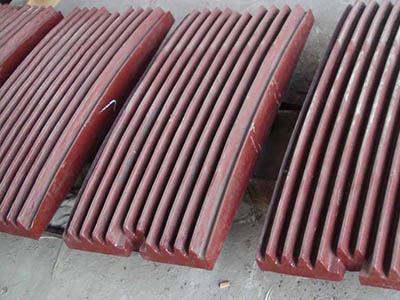 Manganese industrial jaw plate stone crusher jaw plate